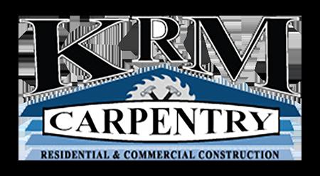 KRM Carpentry Logo